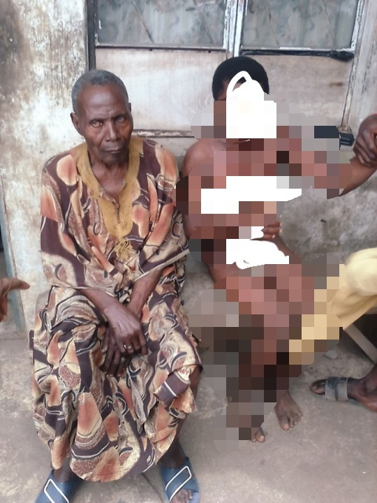 72-Year-Old Man Caught Raping Two Primary School Children